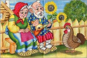 Музыкальная сказка Курочка Ряба
