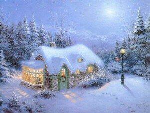 Стихи о зиме на Новый год