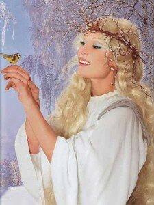 женщина-птица-март